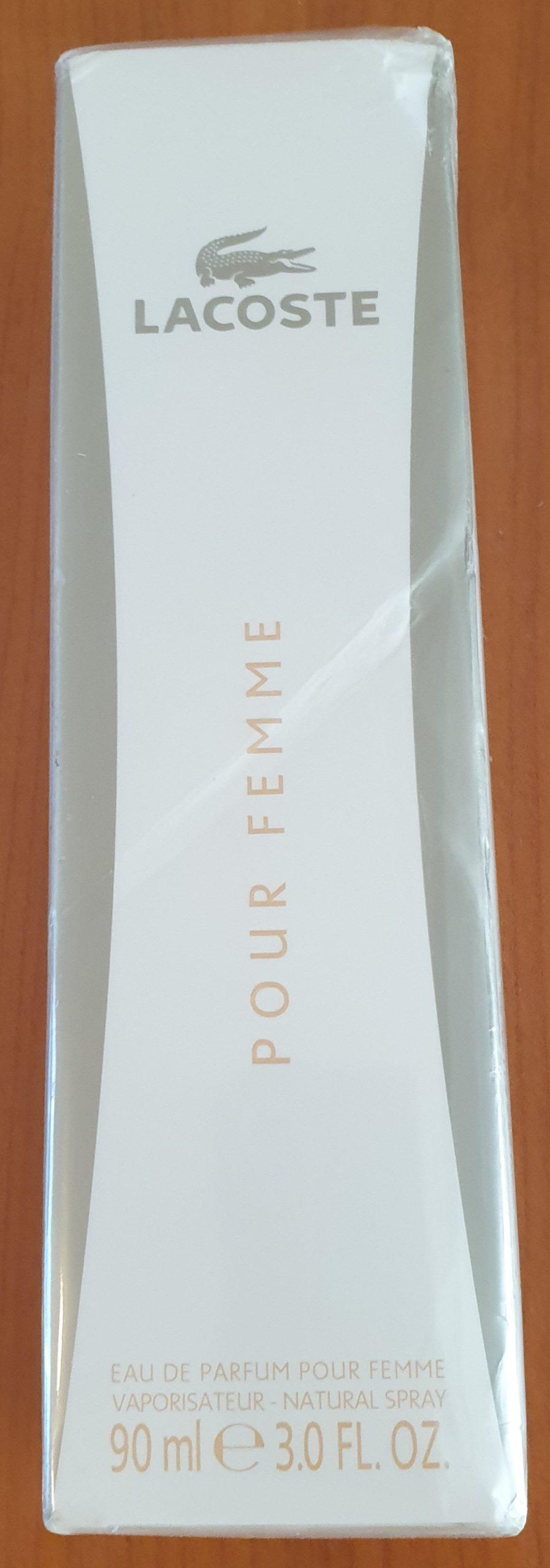 lacoste eau de parfum