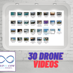 belobiz 30 drone video