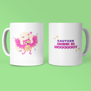 owl mug belobiz