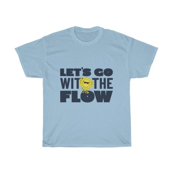 Go With The Flow Heavy Cotton Tee