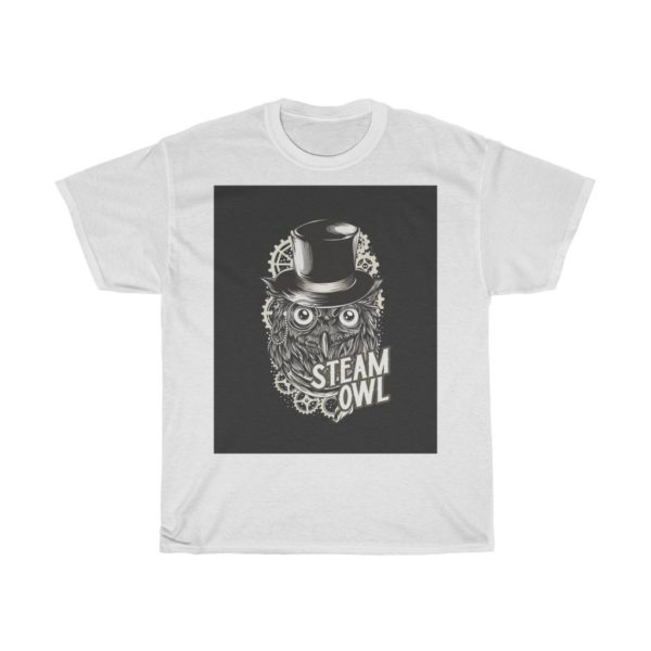 Steam Owl Heavy Cotton Tee