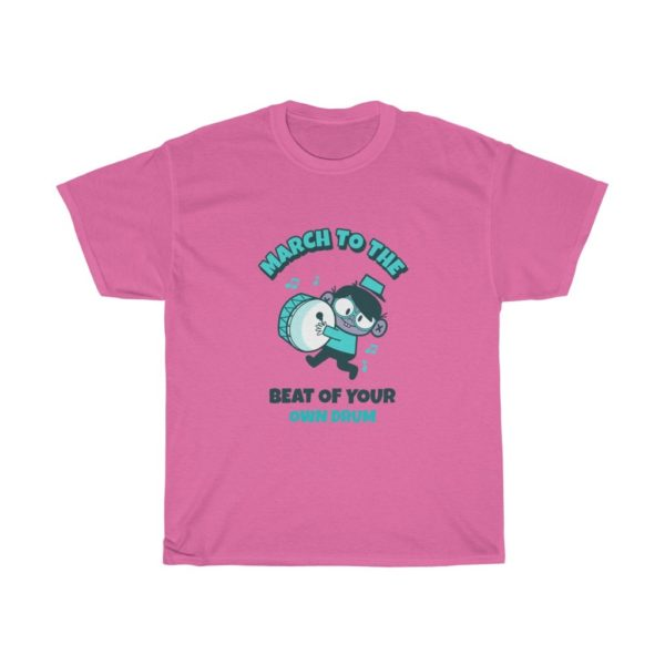 March To The Beat Heavy Cotton Tee