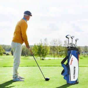 10 Pieces Complete Men's Golf Clubs