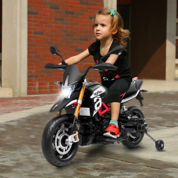 Kids Aprilia Ride on Motorcycle 12V Battery Powered
