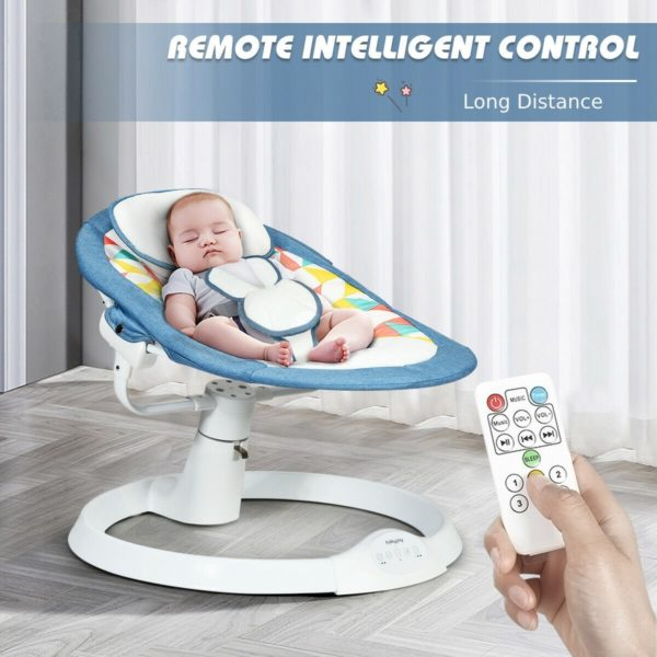 Electric Baby Rocking Chair with Mosquito & Bluetooth
