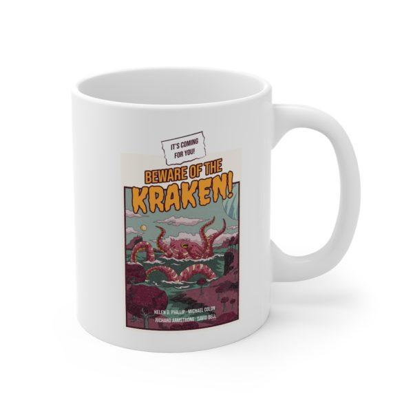 Kraken 11oz White Mug