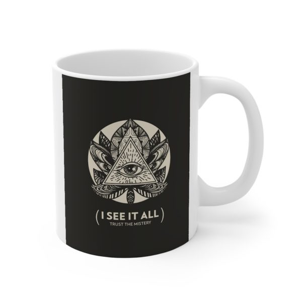See It All 11oz White Mug