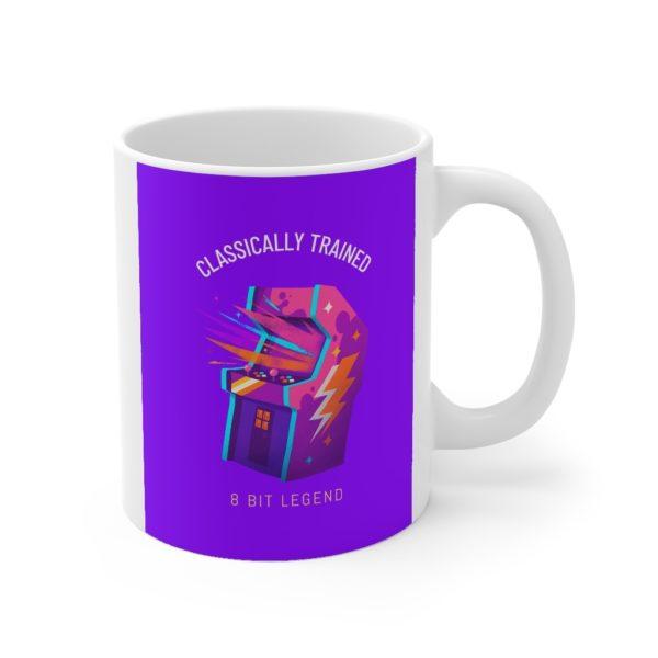 Classically Trained 11oz White Mug