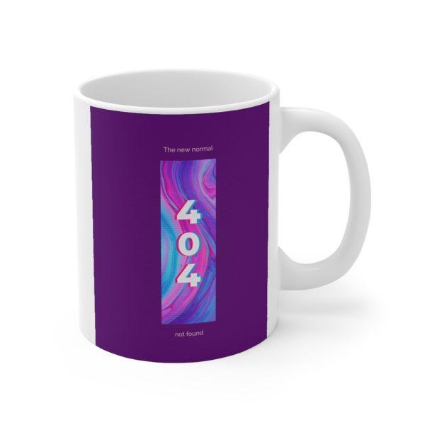 404 11oz White Mug