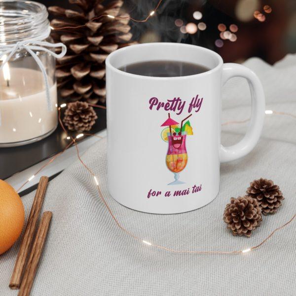 Pretty Fly 11oz White Mug