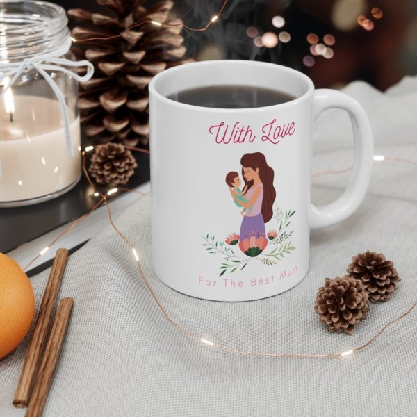 With Love 11oz White Mug