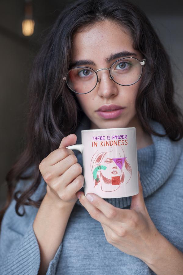 Kindness 11oz White Mug