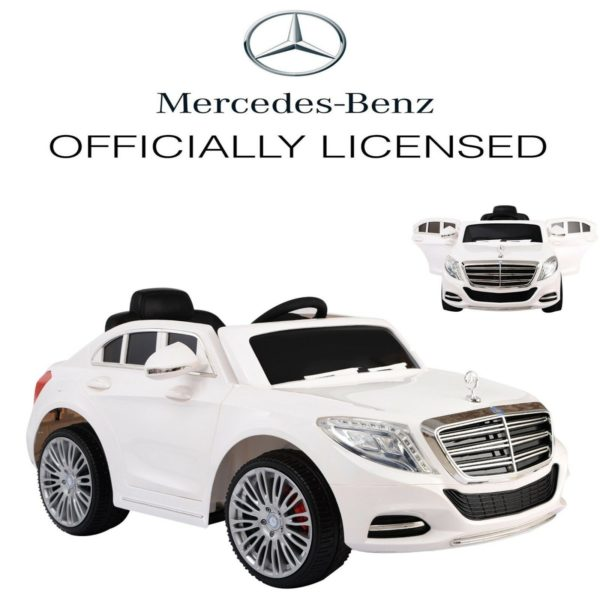 12v 2.4G Licensed Mercedes Benz S600 Child's Ride On Car