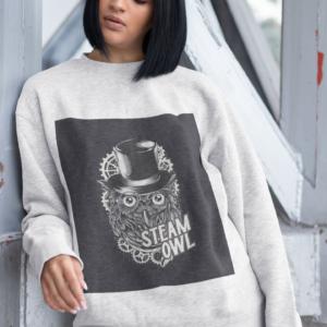 Steam Owl Sweatshirt