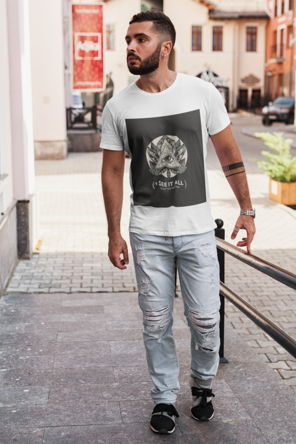 See It All Heavy Cotton Tee