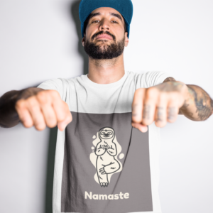 Namaste Heavy Cotton Tee