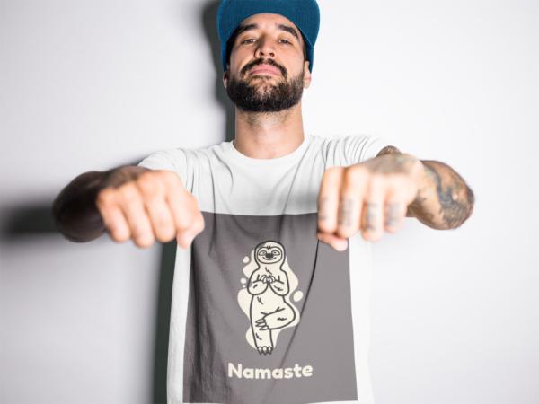 Namaste Heavy Cotton Tee