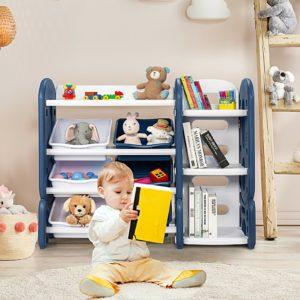 Toy Storage Organiser Children Toddlers Bookcase