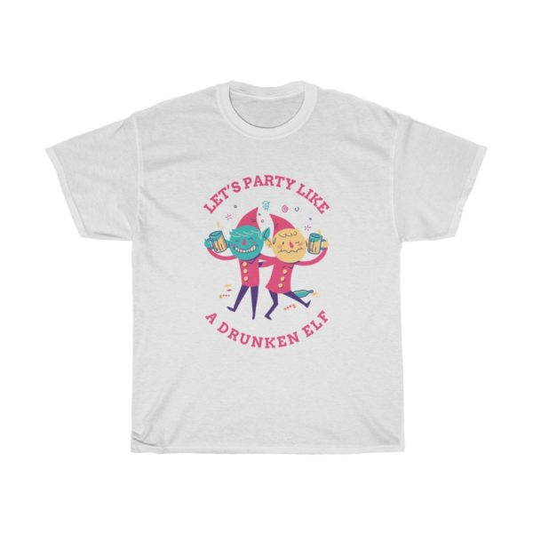 Lets Party Heavy Cotton Tee